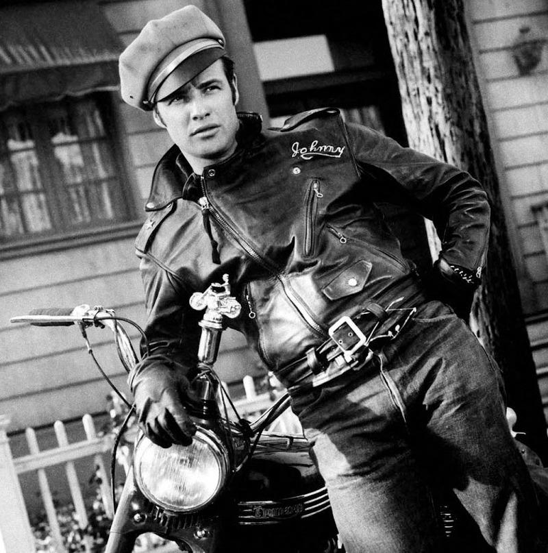 Chaqueta de cuero Marlon Brando